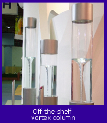 Off the shelf vortex column