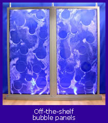 off the shelf bubble panels